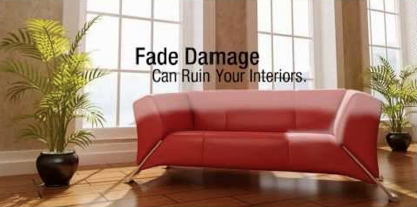 Fade Damage can ruin your interiors. Protect them with 3M Ceramic Series Window Films from Sun Control Plus.