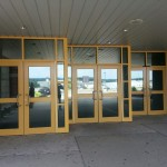 Ultra Prestige Window Films was installed at this high school to provide window protection and security.