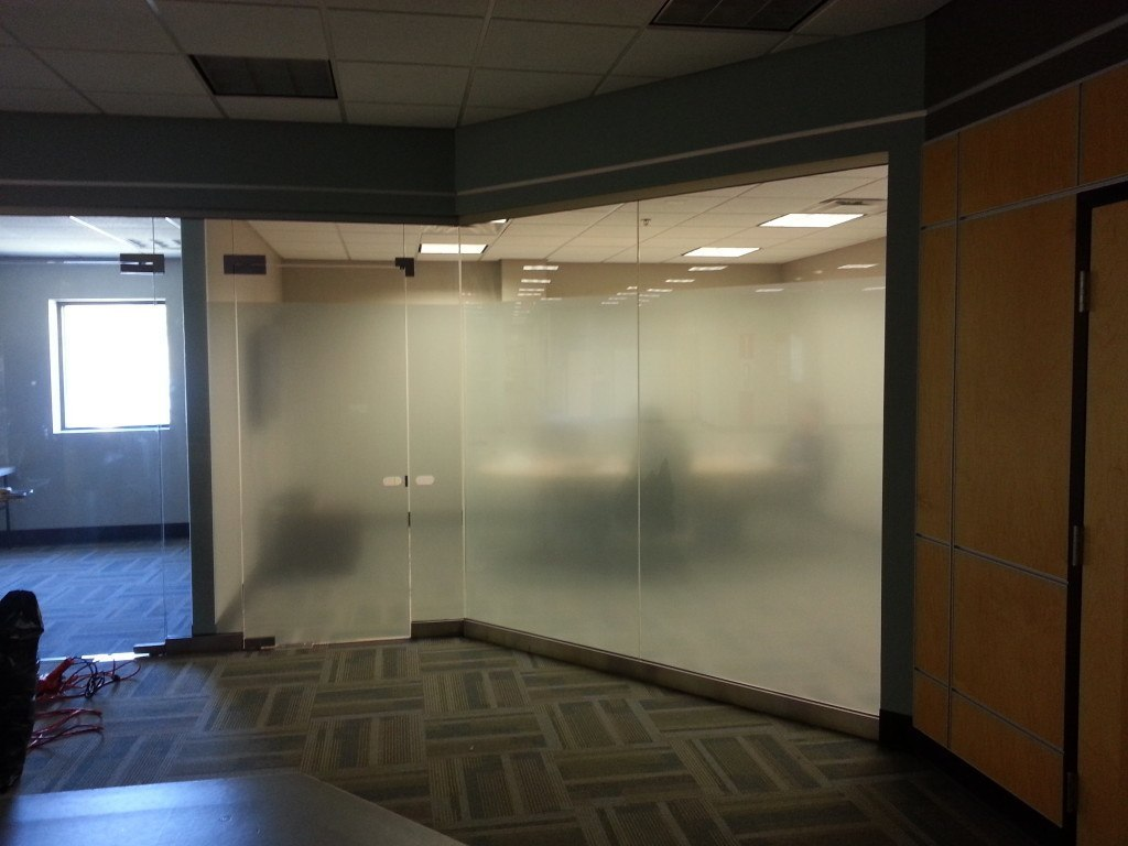 3m Fasara Window Film Installed In A Conference Room For