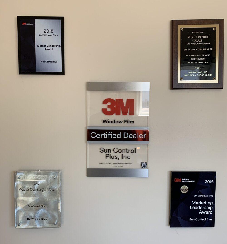Sun Control Plus, Inc is a certified dealer of 3M Window Films