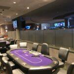 Fasara Decorative Window Film installed at Mt Airy Casino in Mount Poconos