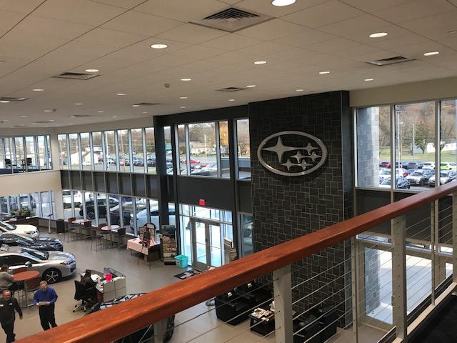 3M Night Vision Window Film installed at W & L Subaru in Northumberland, PA